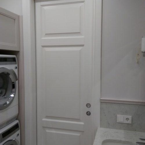 Baltas durvis (3)
